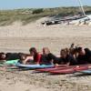 Cours de surf en groupe à Oléron