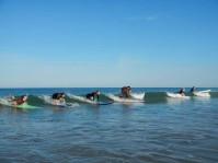 Cours de surf collectif