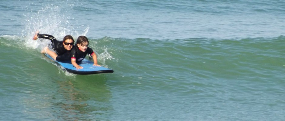 Surf, bodyboard, stand up paddle, fitness à Oléron