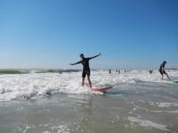 Surfeur happy