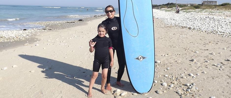 Esprit surf avec Johanne Panzini et jo Michaud