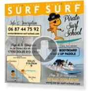 Cours surf particulier charente
