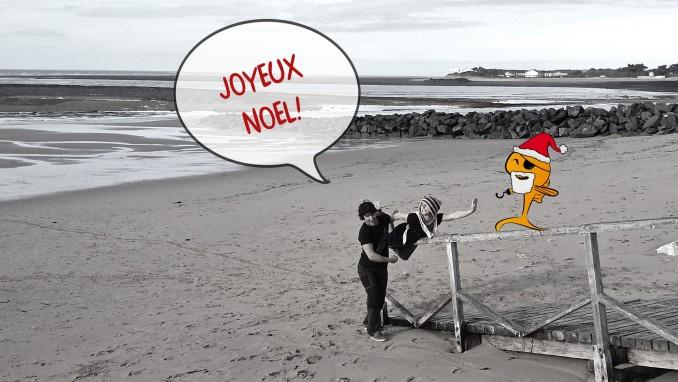 L'équipe de Pirate Surf School vous souhaite un joyeux noël!