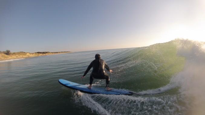 De magnifiques vagues pour ces vacances!